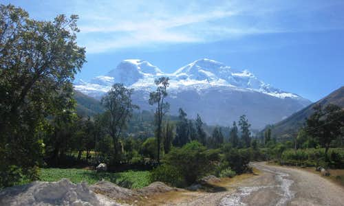 Huascarán from the southwest