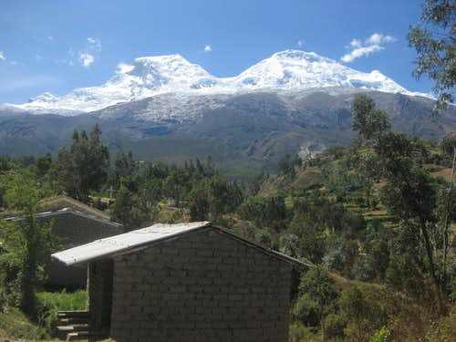 Huascaran from Musho