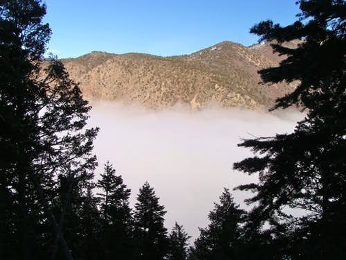 Inversion in Taylor Canyon