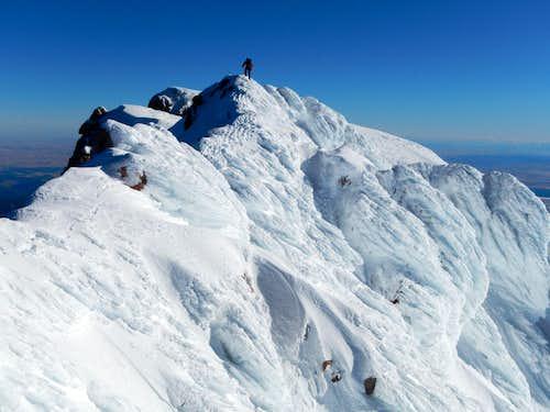 Mount Hood Summit In December