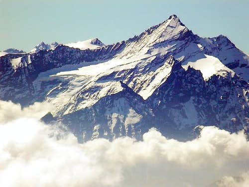 la Grivola (3969 m.) and the...