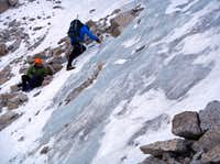 Ice Traverse Belay
