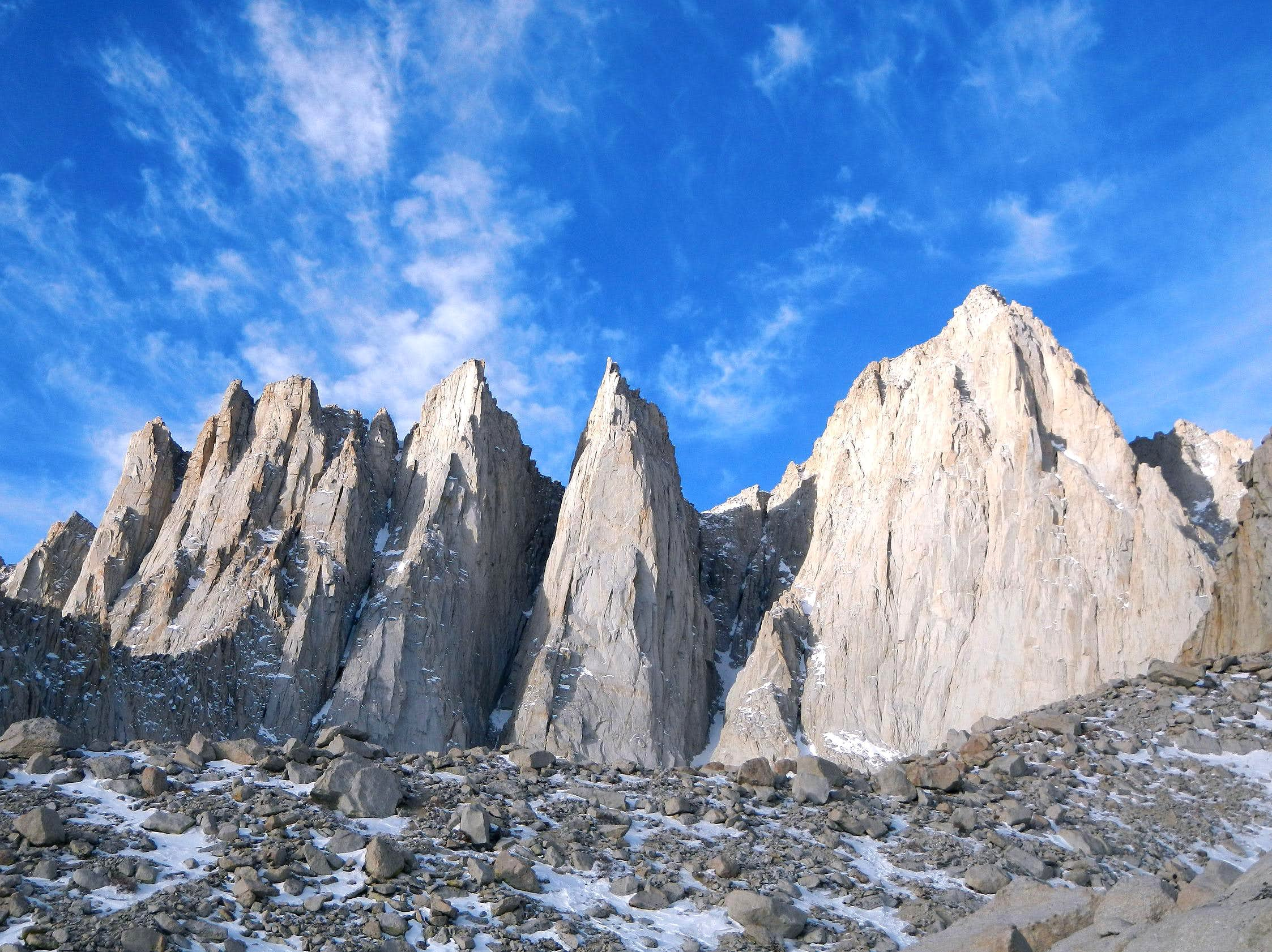 Mount Whitney - Mountaineers Route - December 2011