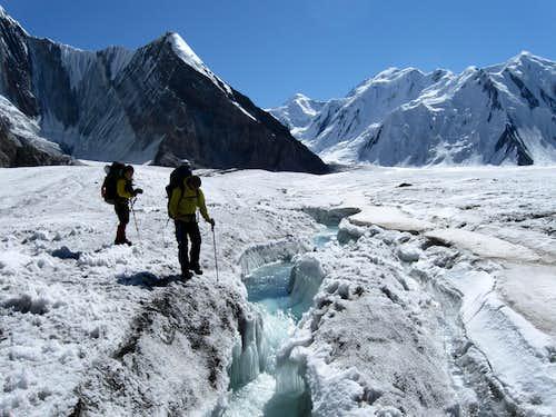South Inylchek Glacier