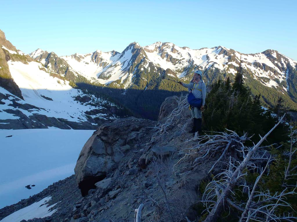 Atop Lateral Moraine