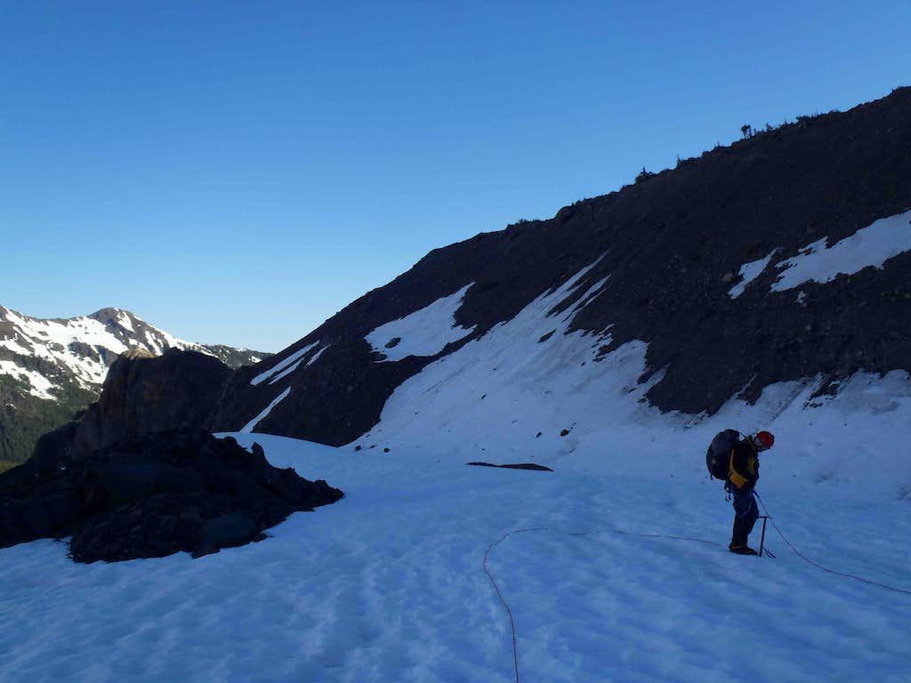 Roping-Up On Blue Glacier