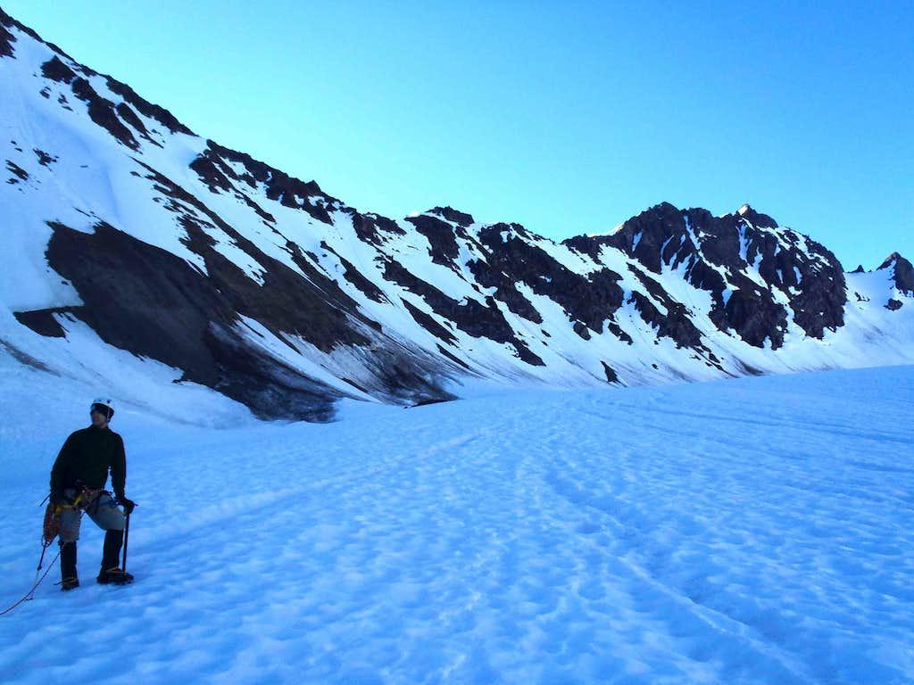 Gimpilator On Blue Glacier