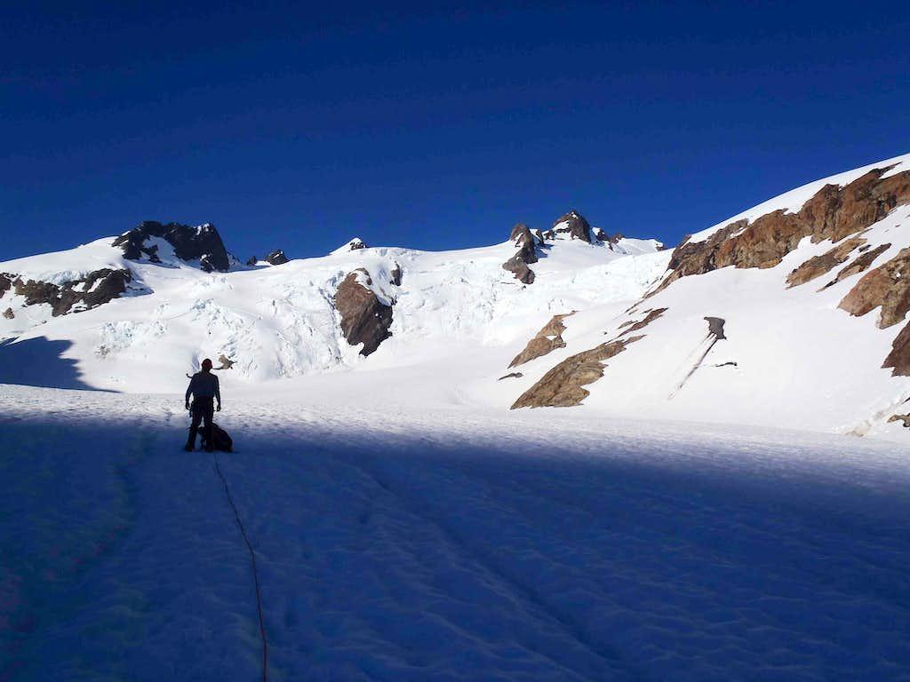Dave On Blue Glacier