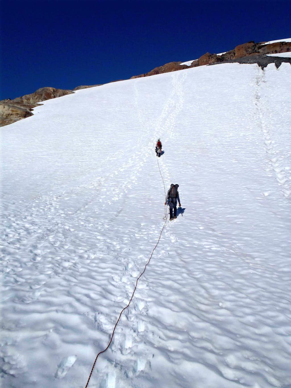 Ascending From Blue Glacier