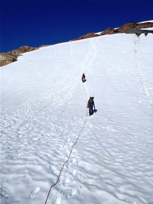Ascending From Blue Glacier