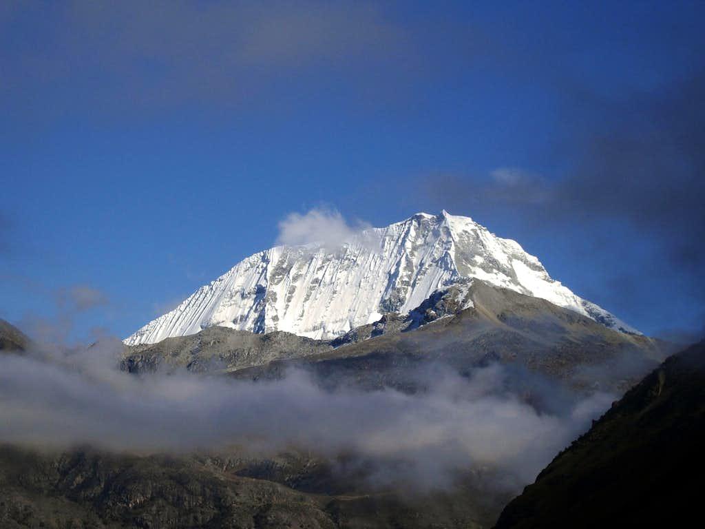 Nevado Ranrapalca South face