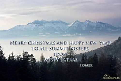 Merry Christmas from Tatras