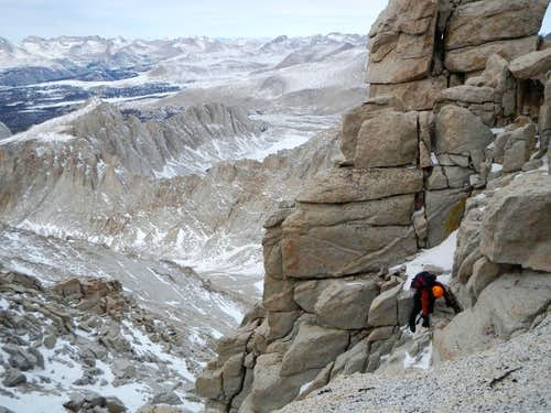 Scrambling At 14,200 Feet