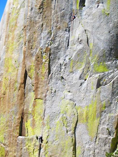 Climbers on Thin Ice. 1 st....