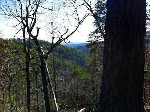 Paris Mountain -- Sulpher Springs Trail