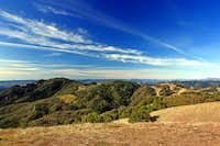West from Bald Mtn. summit, 2,729\'