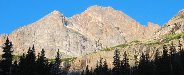 McHenry's Peak as seen from...