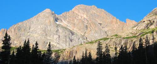 McHenry\'s Peak as seen from...