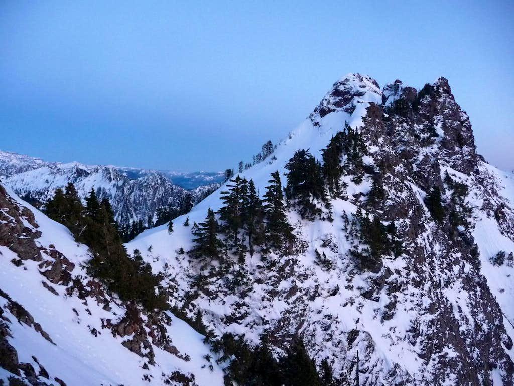 Mount Stickney's Summit Block