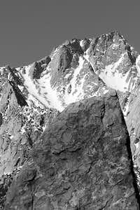 Lone Pine Peak and Shark Fin