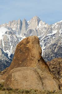 Mt. Whitney from Alabama Hills