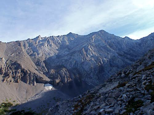 South West Face of 'Mt. Denny', Scramble
