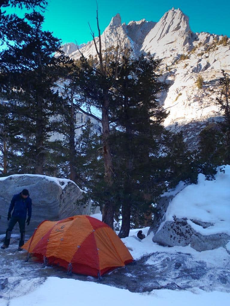 Camp at LBL