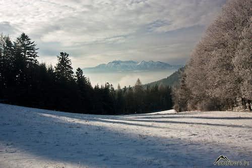 Tatras from Szopka pass