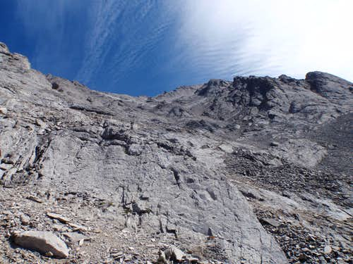 Upper Slabs on SW slopes