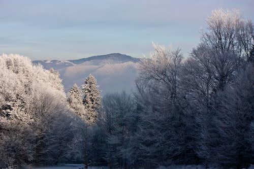 Pieniny wintertime