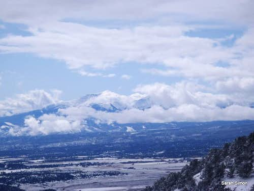 Looking west from Bald Mountain