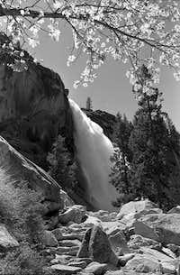 Nevada Falls from Mist Trail