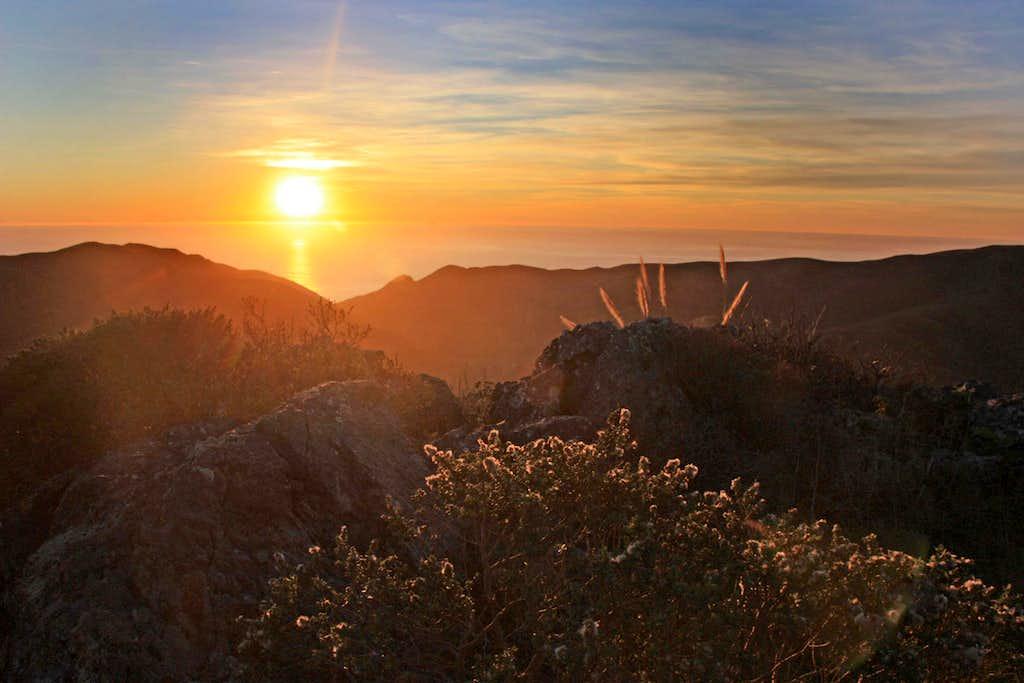 Sunset Marin Headlands