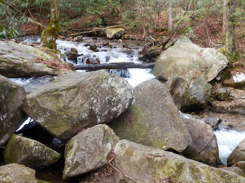 RF--Creek Going Up