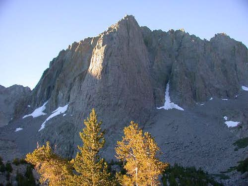 Temple Crag from the north,...