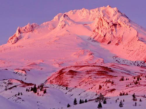 Mount Hood in Winters Splendor