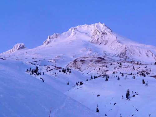 Mount Hood during Evening
