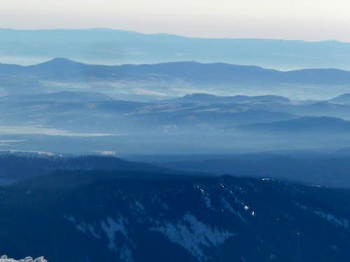 Blue Ridges to the South