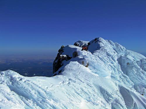 Mount Hood's Summit Ridge
