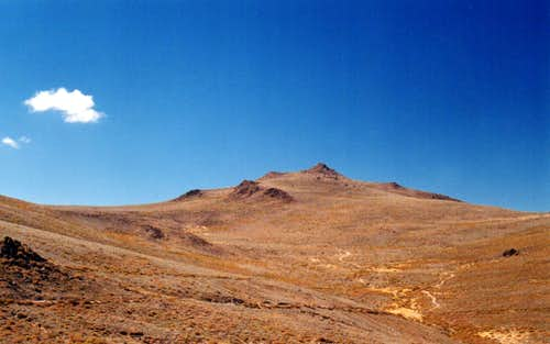 Potato Peak and Bodie Mountain
