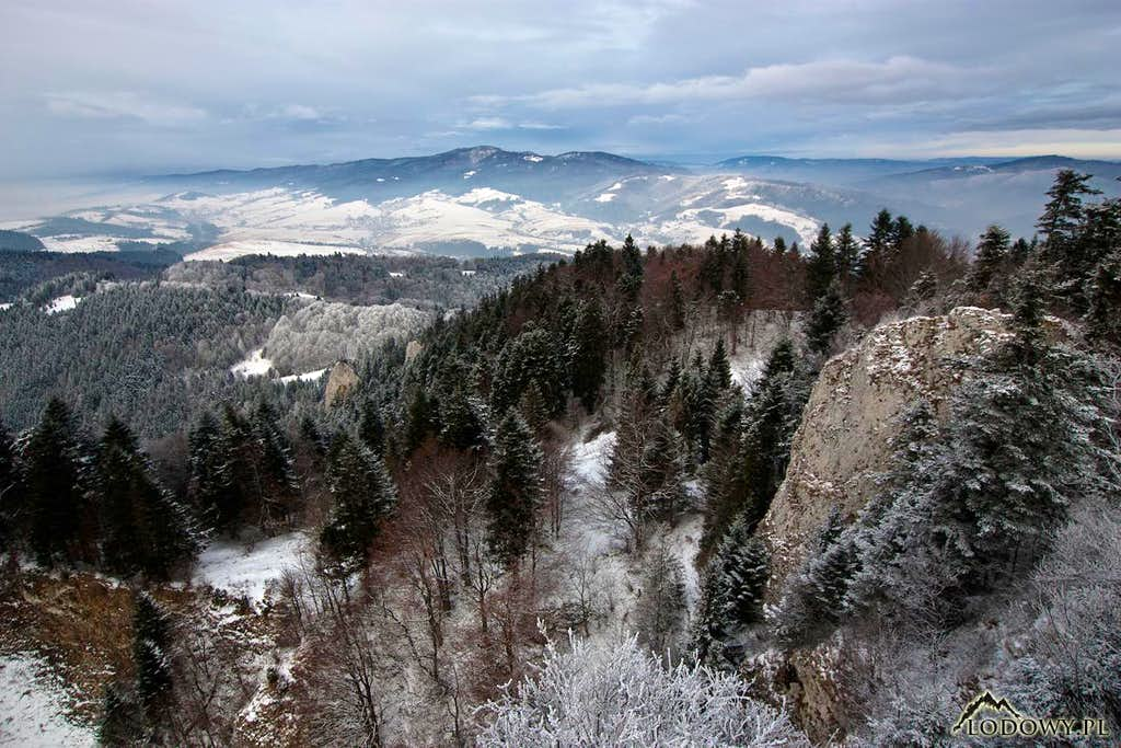 Luban range from Trzy Korony