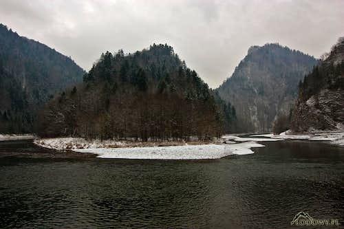 Dunajec canyon