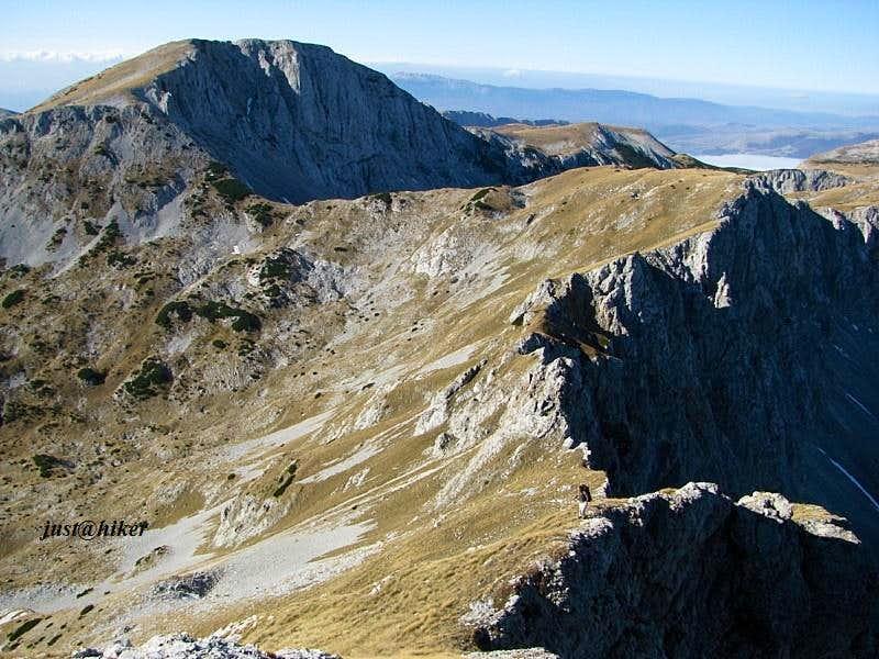 Trzivka (2.332m) & Volujak (2.346m) ridge