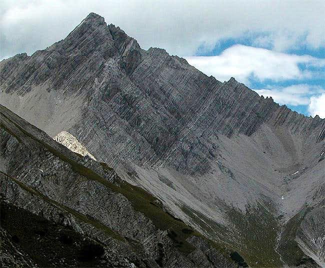 Grubenspitze, Sept 20th 2004