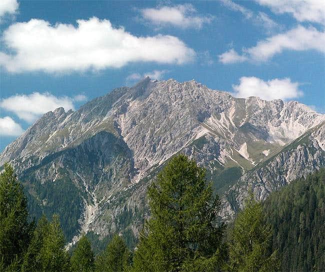 Eisenschuß (2615m), Sept 6th...