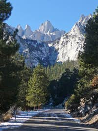 The Road to Mount Whitney