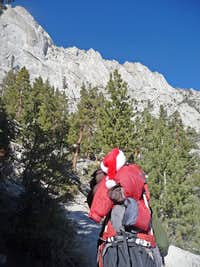 The Santa Man on the Trail