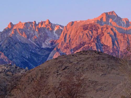 Mount Le Conte and Lone Pine Peak