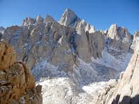 Mount Whitney to the West