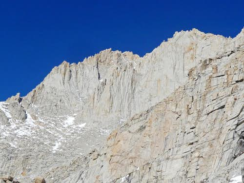 Mount Russel\'s Burly South Face